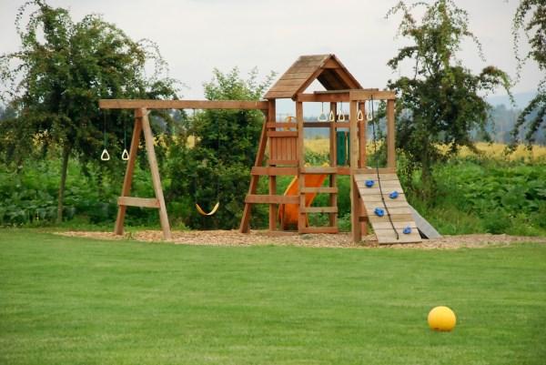 Backyard Playground Ground Cover