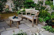 small patio ideas space-saving