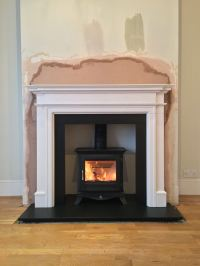 Project 82 ; Wood burning stove Installation Tooting ...
