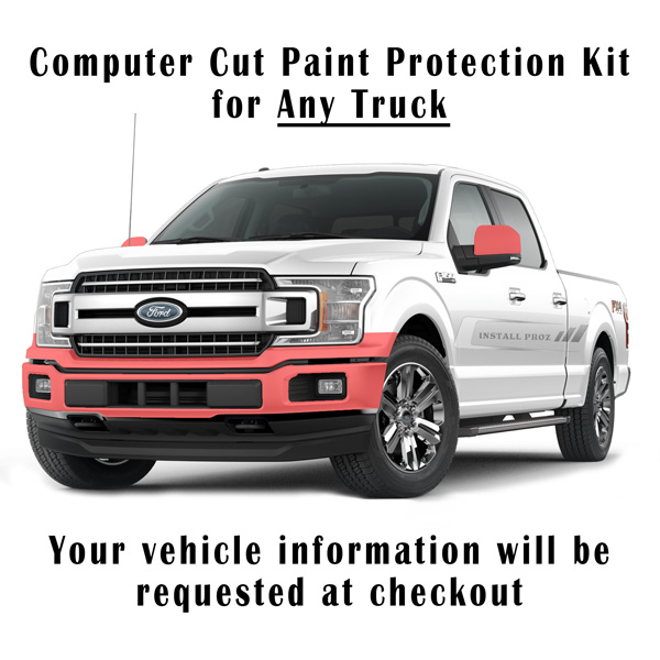 Paint Protection Film >> Self Healing Clear Paint Protection Film Kit Computer Cut For Any