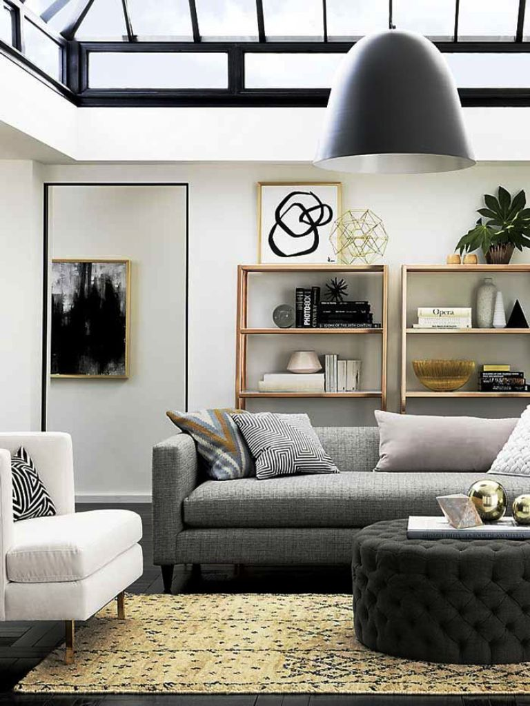 light grey carpet living room ideas decor with gray sofa 25 amazing modern apartment design and ...
