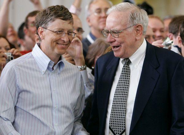 Bill Gates and Warren Buffet