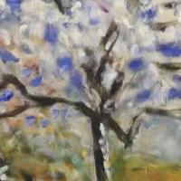 Pierre Bonnard : L'amandier en fleurs (1946)