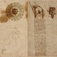 Léonard de Vinci : Les 1119 pages du Codex Atlanticus désormais consultables en ligne