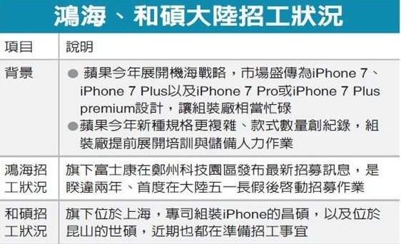 chinatimes-foxconn-pegatron-iphone-7