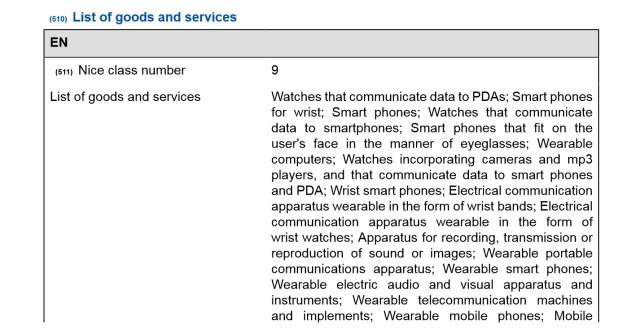 lg-watch-trademark-filing