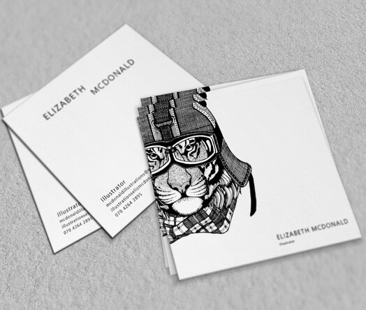 Business cards design printing from 6 business cards for Cheap square business cards