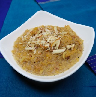 Lapsi (Cracked Wheat Halwa)