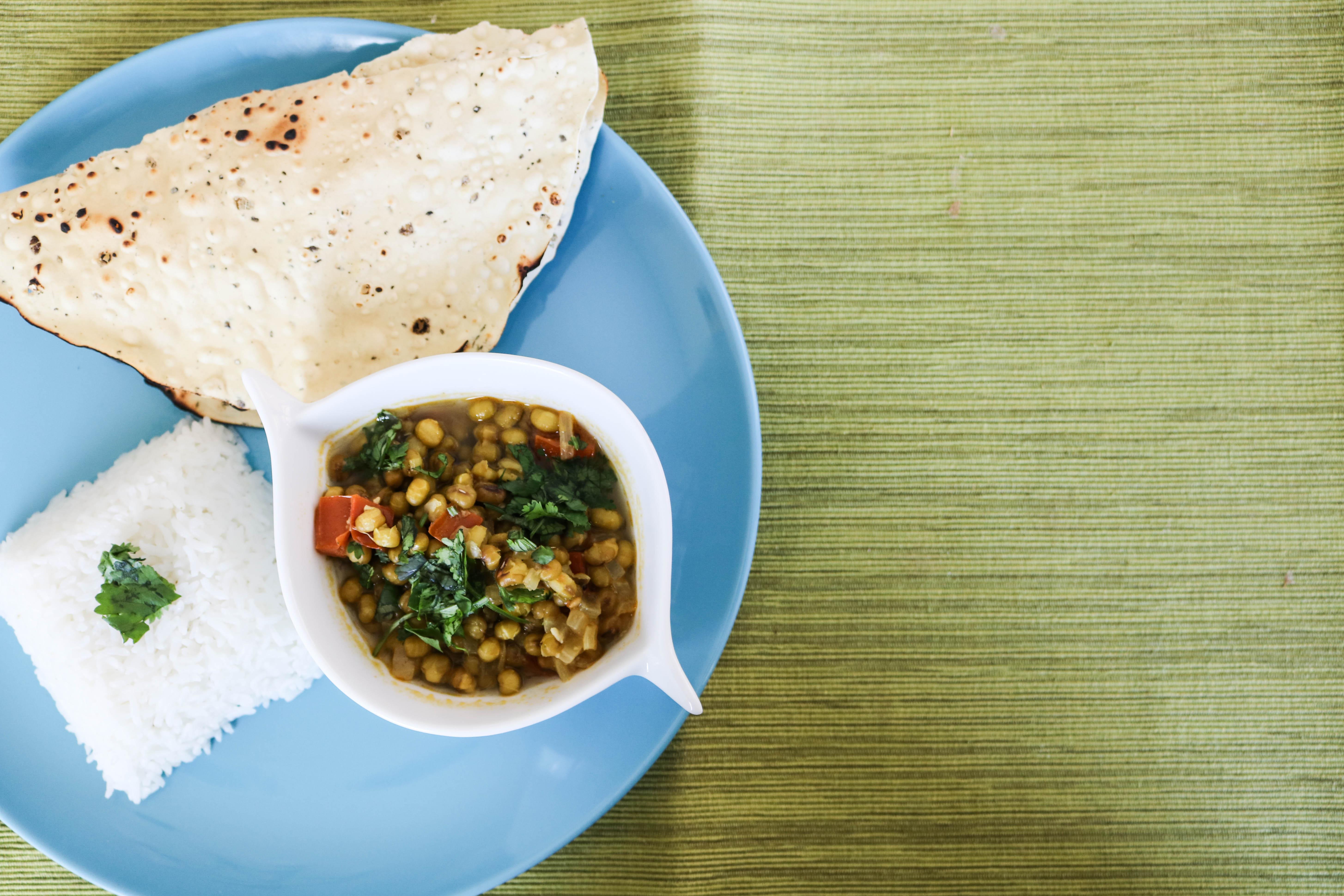 Gujarati Mung Bean Curry