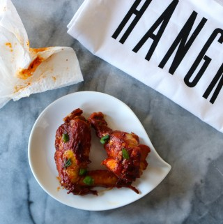 Tandoori Chicken Wings in the Instant Pot
