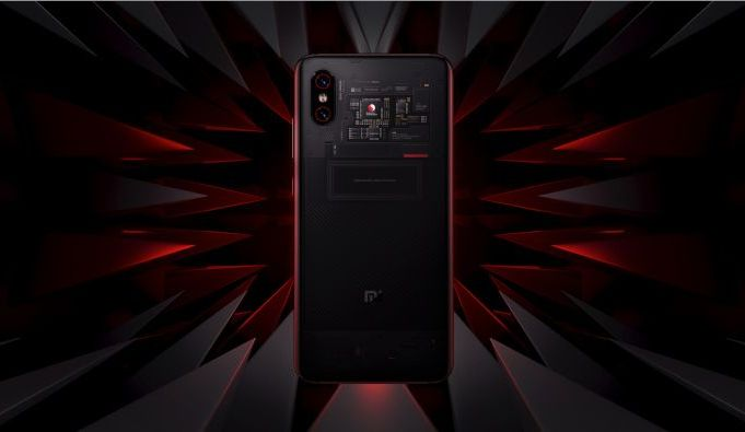 Xiaomi Mi 8 Fingerprint Edition - trasera