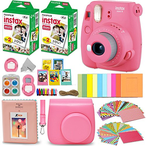 Cartoon Ace Select 20 Sheets Colorful Photo Border Stickers Instant Films Sticker for FujiFilm Instax Mini 9// 8// 7s// 70// 26// 50s// 90 Camera Film