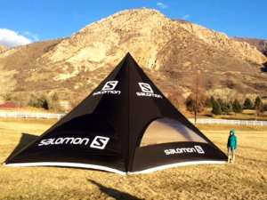 Sky Tent - Star tent shape - salomon