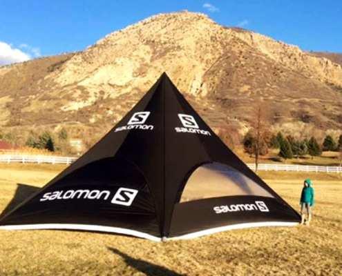 Sky Tent - Star tent shape - salomon