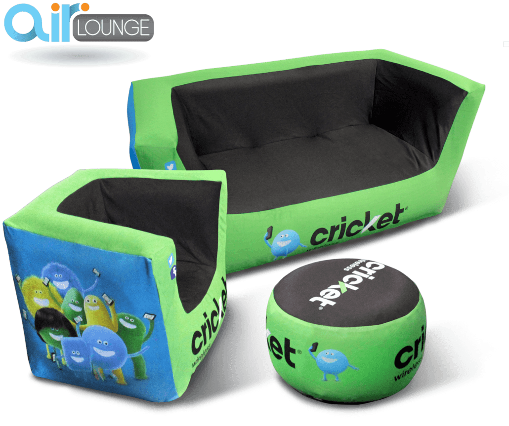 inflatable chairs for adults mac motion airlounge custom trade show furniture instent com