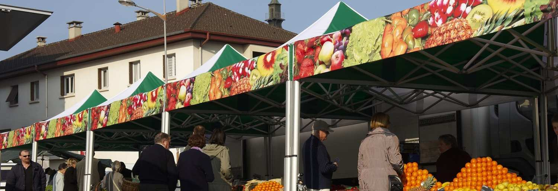 custom tents for markets
