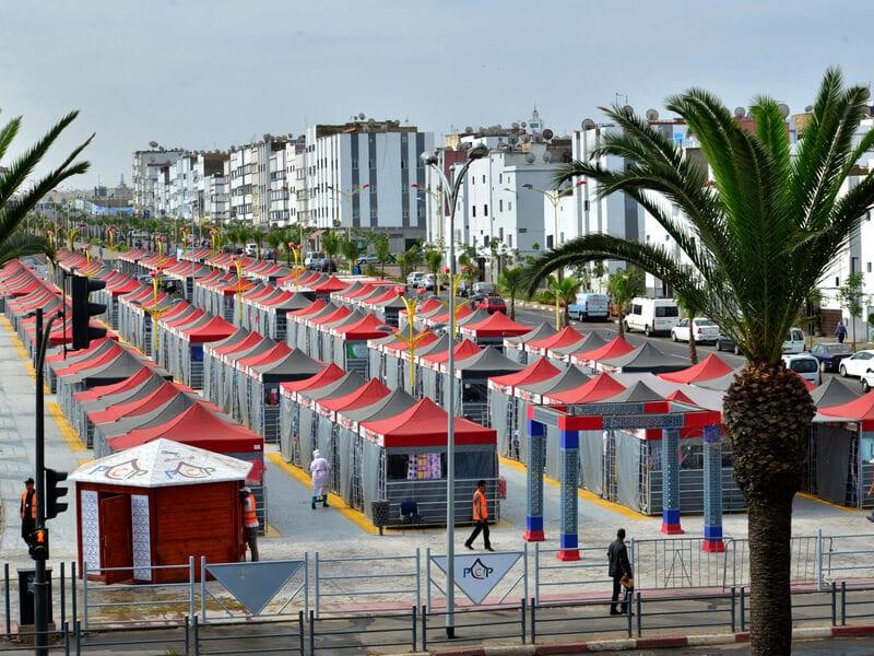Market canopies
