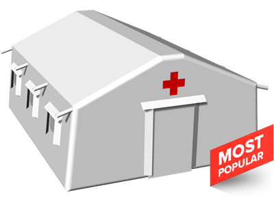 large inflatable medical tents