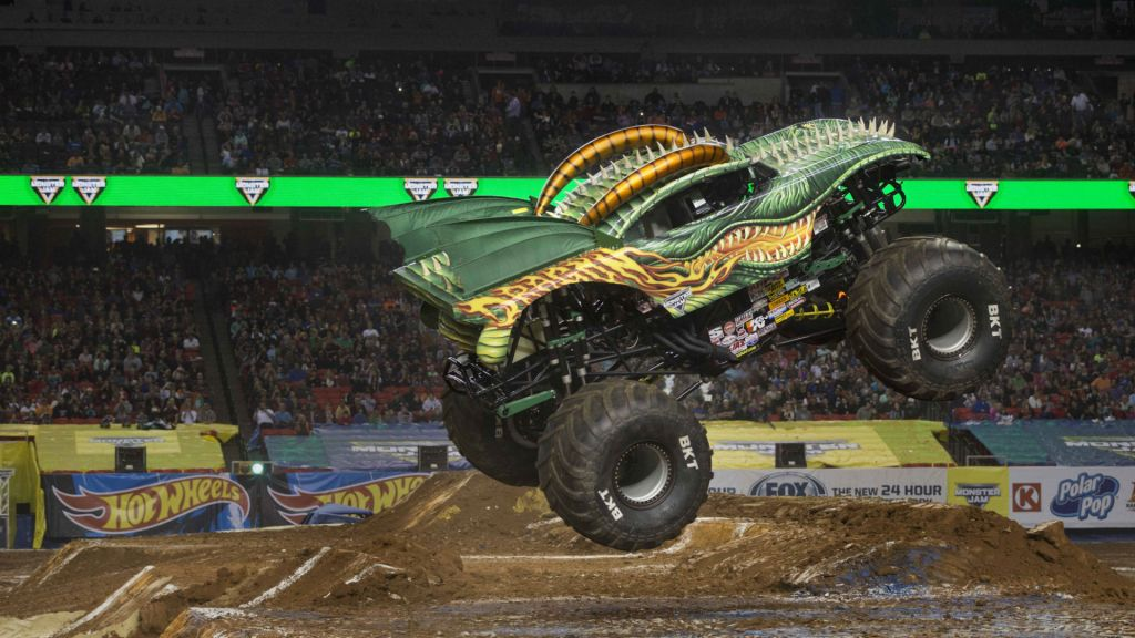 Dragon, Cardiff, Monster Jam, Monsterjam