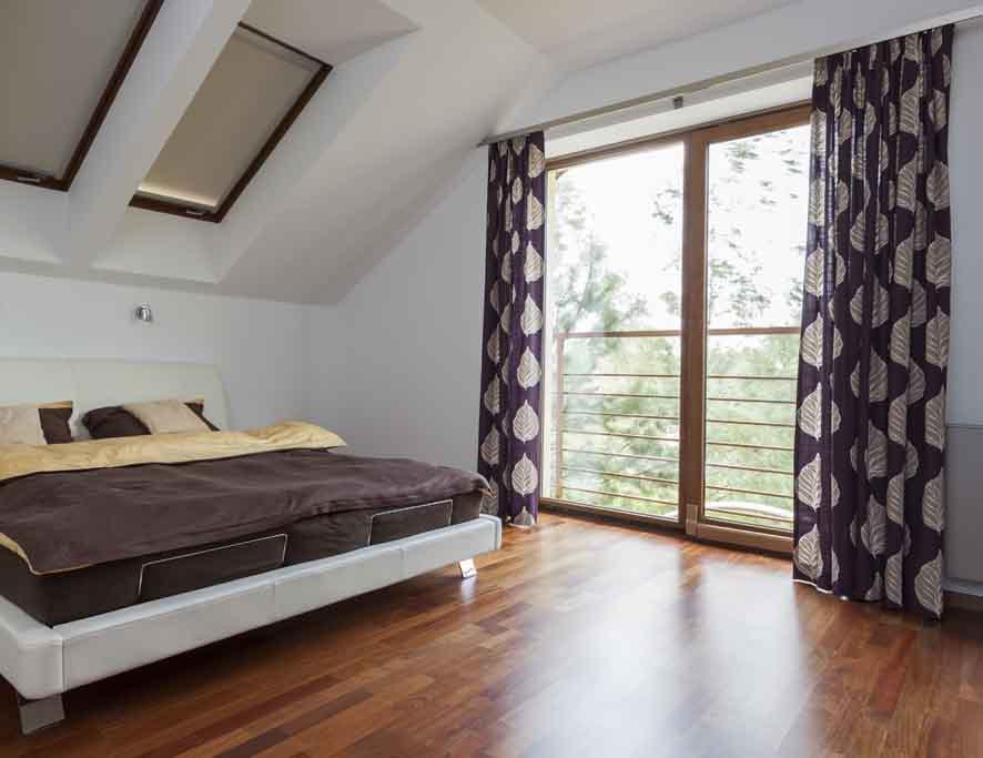 Vorhaenge Wohnzimmer Sonnenschutz