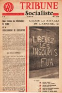 Avril 1962, Tribune Socialiste