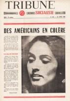 Couverture Tribune Socialiste N°283, 23 Avril 1966