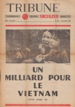 Couverture Tribune Socialiste N°299, 29 Octobre 1966