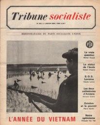 Couverture Tribune Socialiste N°354, 4 Janvier 1968