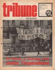 Couverture Tribune Socialiste N°419, 10 Juillet 1969