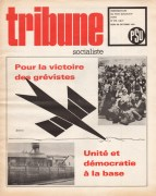 Couverture Tribune Socialiste N°470, Octobre 1970