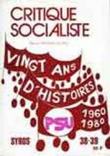 Critique Socialiste N°38-39, 1980