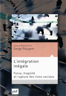Couverture Integration inégale, Serge Paugam Mai 2015
