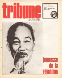 Couverture Tribune Socialiste N°420, 19 Septembre 1969