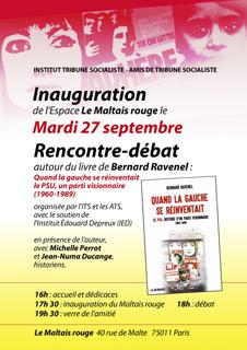 invit inauguration Le Maltais Rouge