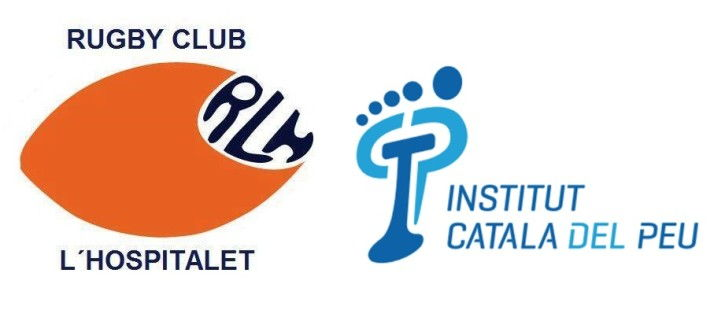 The Institut Català del Peu makes an agreement with L'Hospitalet Rugby Club as official podiatrists.