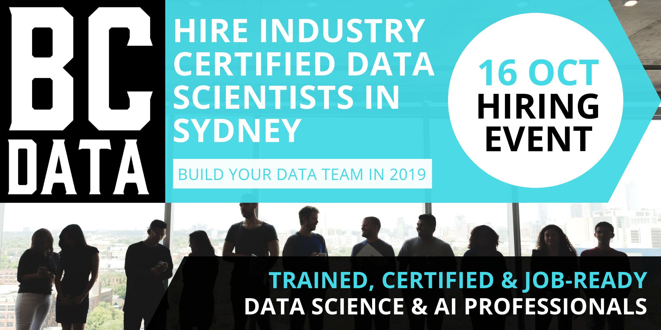 Exclusive Data Science Hiring Event- Sydney