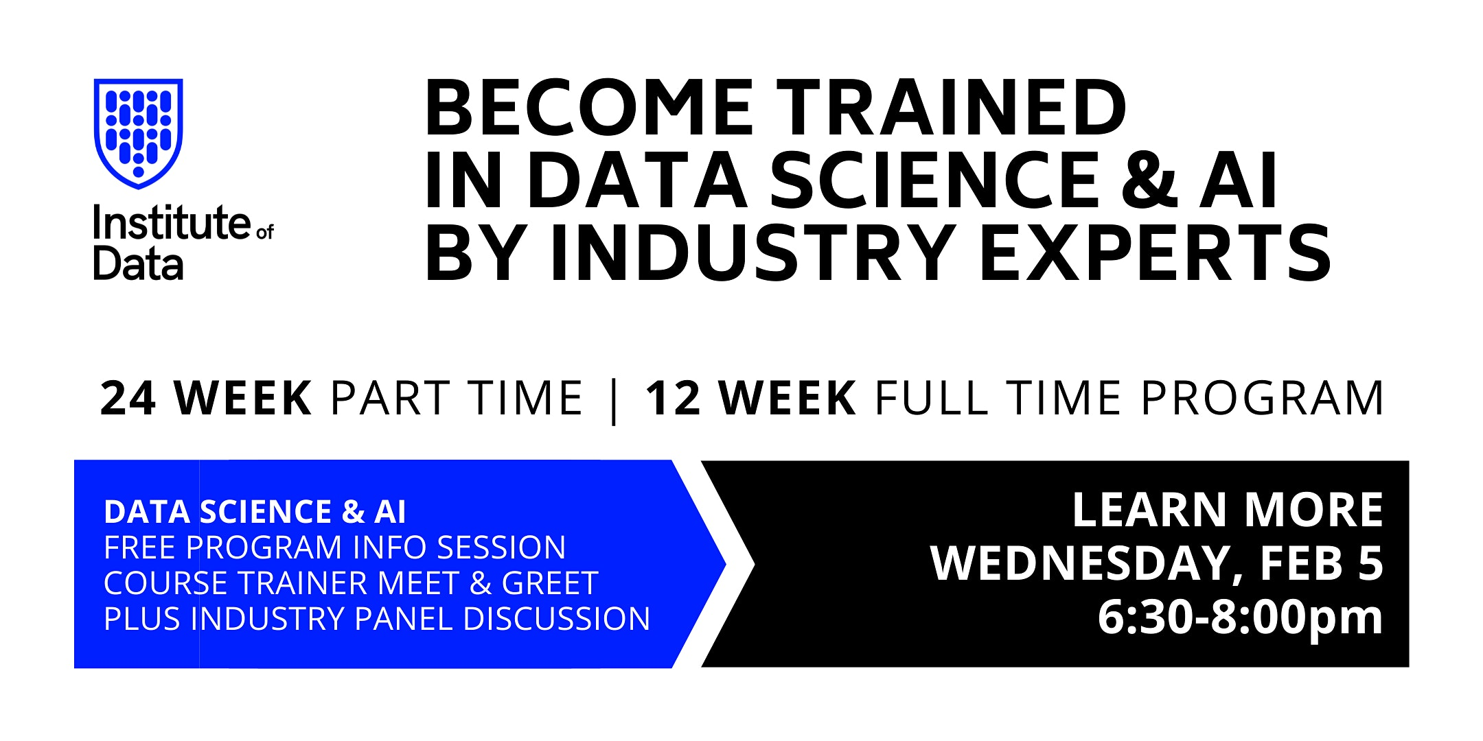 Become Trained in Data Science & AI by Industry Experts