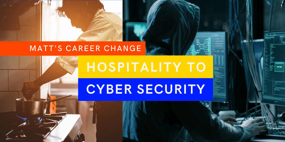 cyber security career change