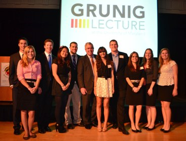 6th Annual Grunig Lecture 16 Group [Efe Abugo Photography]