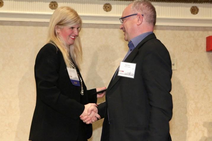 Dr. Tina McCorkindale and Dr. Dejan Vercic