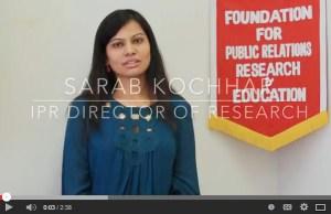Sarab Kochhar Video Screenshot