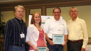 Jennalane O. Hawes, Brad Rawlins, Kenneth D. Plowman (Brigham Young University) accept IPRRC Top Paper Award