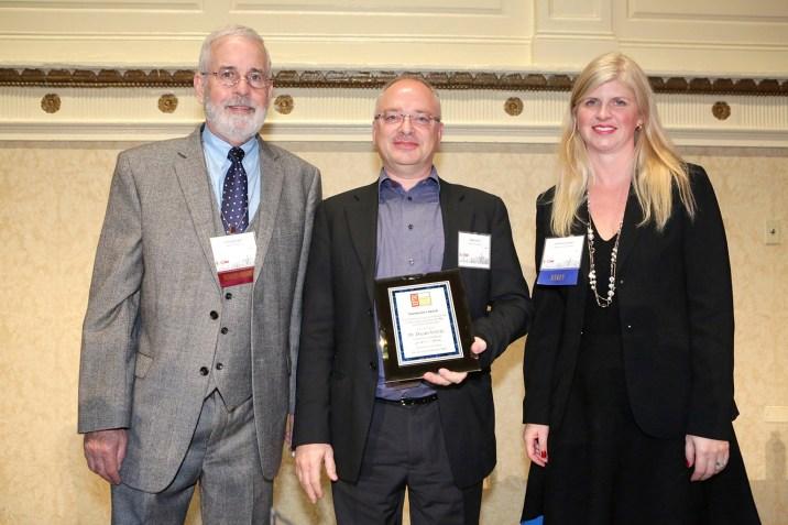 Dr. Don Wright, Dr. Dejan Vercic and Dr. Tina McCorkindale
