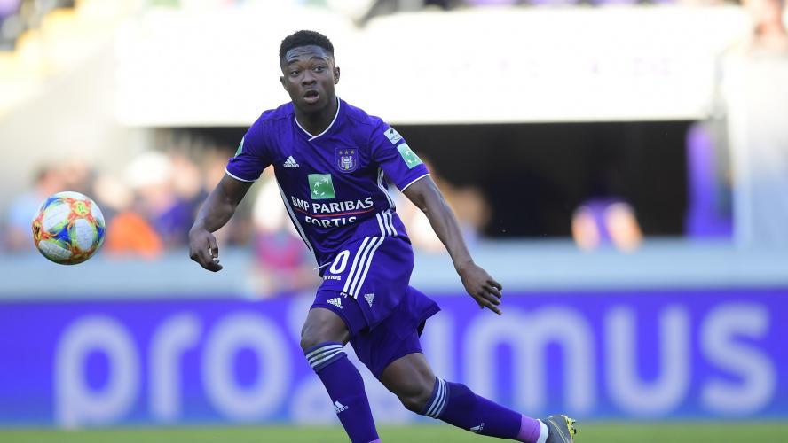 Francis Amuzu Anderlecht institut jmg football acadamy