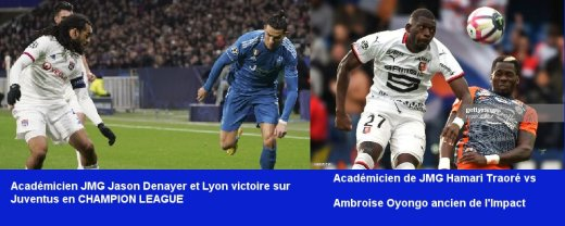 JAson denayer jmg Lyon vs Juventus et Ronaldo