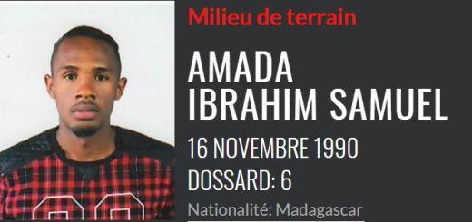 Ibrahim Samuel Amada JMG ACADEMIE DE MADAGASCAR