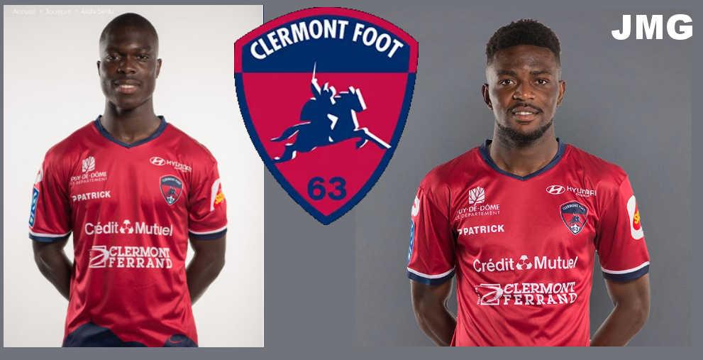 JMG Clermont Alidu Samed LIgue 2 a Ligue 1