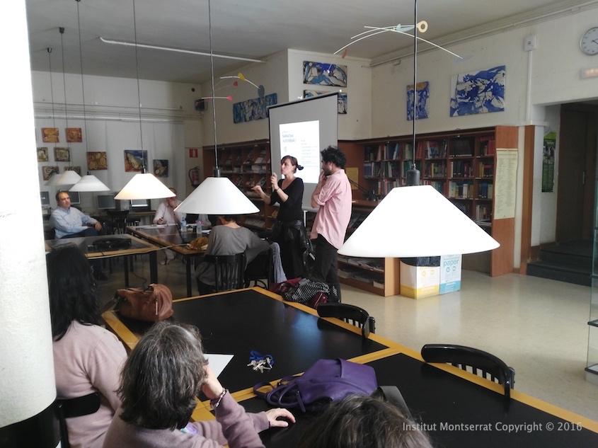 Institut Montserrat_Presentació de l'ESCAC a l'Institut Montserrat00003