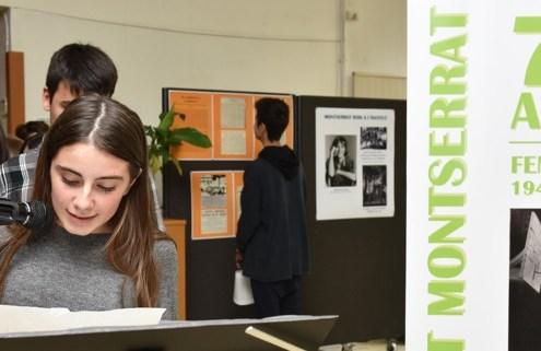 Celebració del 75è aniversari de l'Institut Montserrat