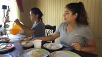 Lunch at homestay